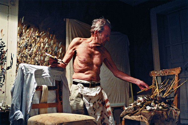Lucian Freud Working at Night by David Dawson