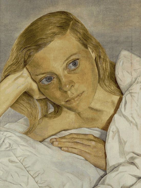 Girl In Bed, 1952