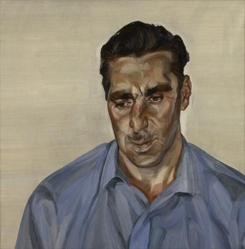 Man in a Blue Shirt, 1965