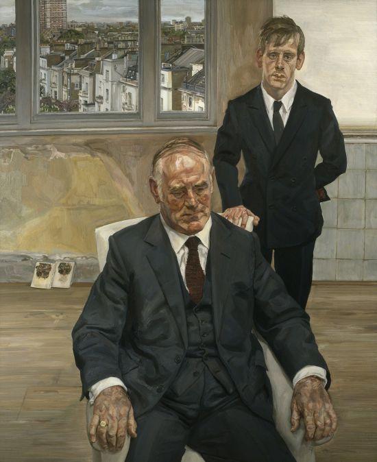 Two Irishmen in W11. 1984-85