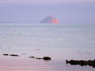 Ailsa Craig sunset