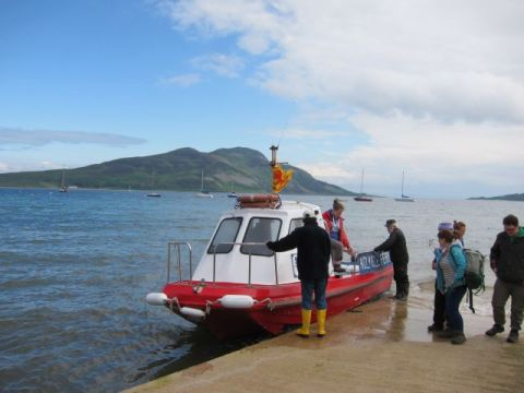Holy Island ferry 3