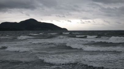 Whiting Bay storm