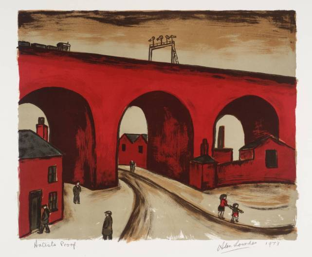 Stockport Viaduct 1973 by Alan Lowndes