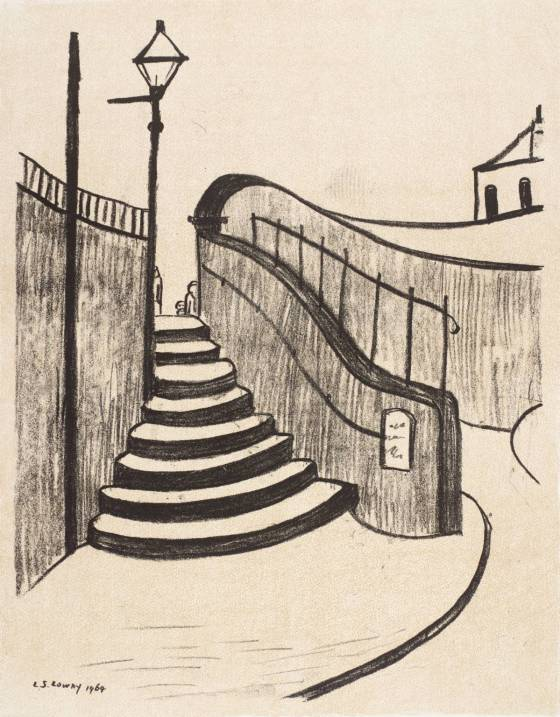 Lowry, Old Steps, Stockport 1969-70
