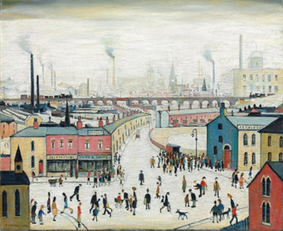 Lowry, Stockport Viaduct, 1958