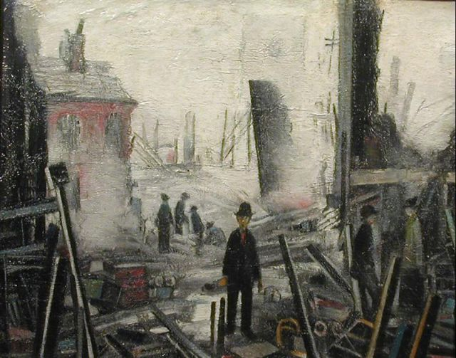 A Lowry Summer In An Autumn Deluge That 39 S How The Light