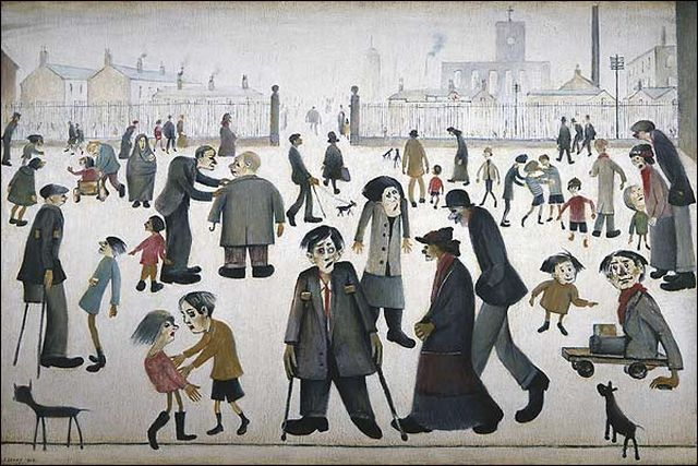 A Lowry Summer in an autumn deluge – That's How The Light Gets In