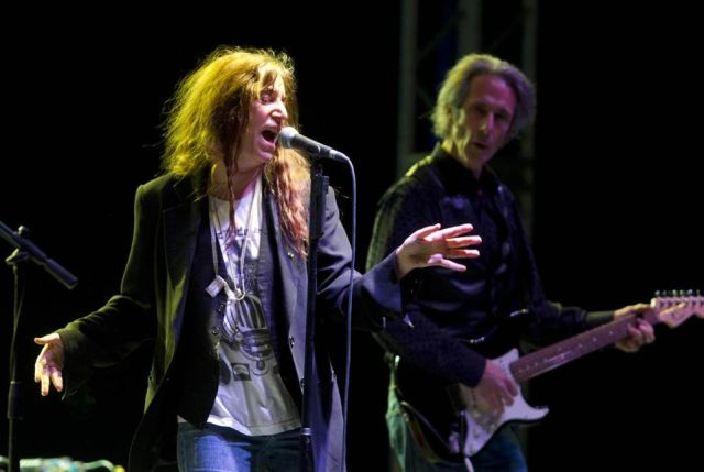 Patti Smith in Manchester: spirit in the night
