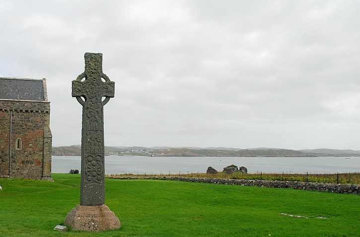St Martin's Cross, Iona Abbey