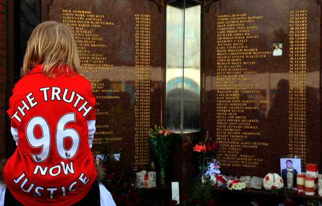 Hillsborough memorial Anfield