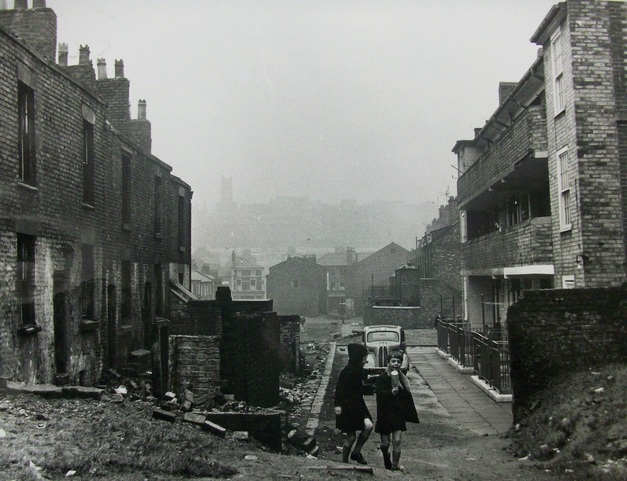 Kew street and Bostock street, 1966. Liverpool Records Office