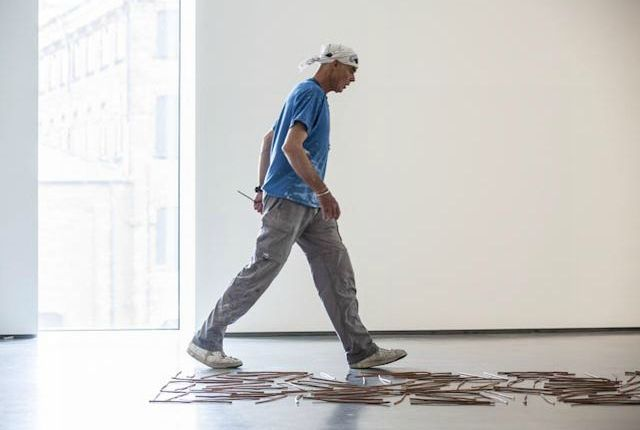 Making a beeline for Richard Long