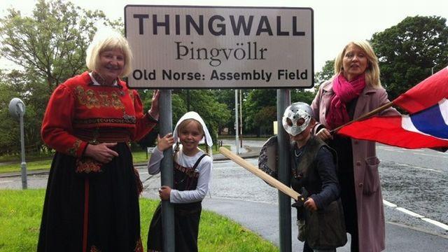 Vikings on theWirral