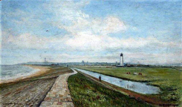 Harold Hopps, Leasowe Embankment 1908