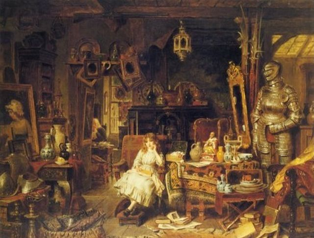 John Watkins Chapman - The Old Curiosity Shop