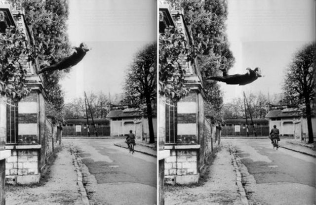 Yves Klein, Leap into the Void 1960