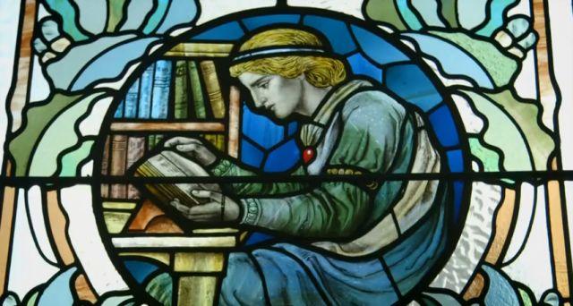 Accrington Library window