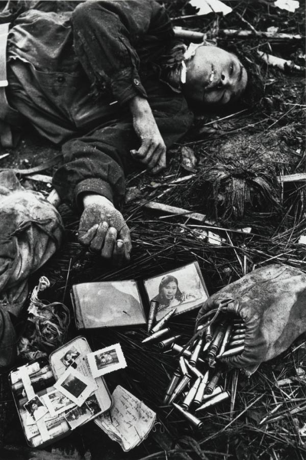 Body of a North Vietnamese soldier, Hue 1968