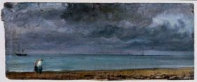 Brighton Beach' by John Constable, 1824