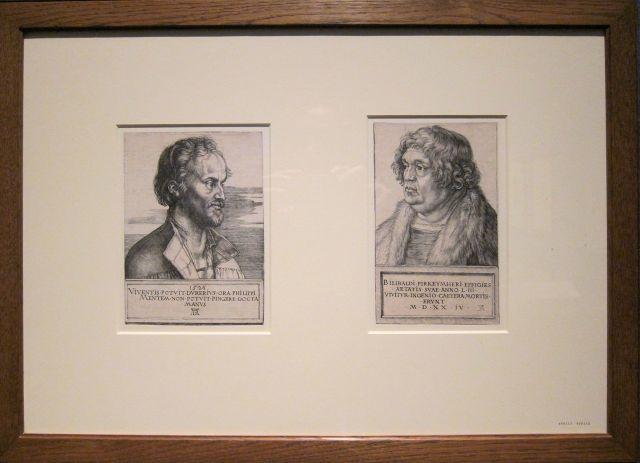 Durer, Melanchthon and Pirckheimer, 1524-26