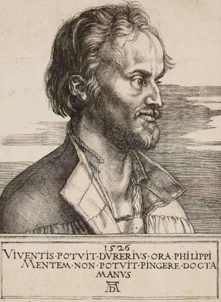 Durer, Philip Melanchthon, 1526