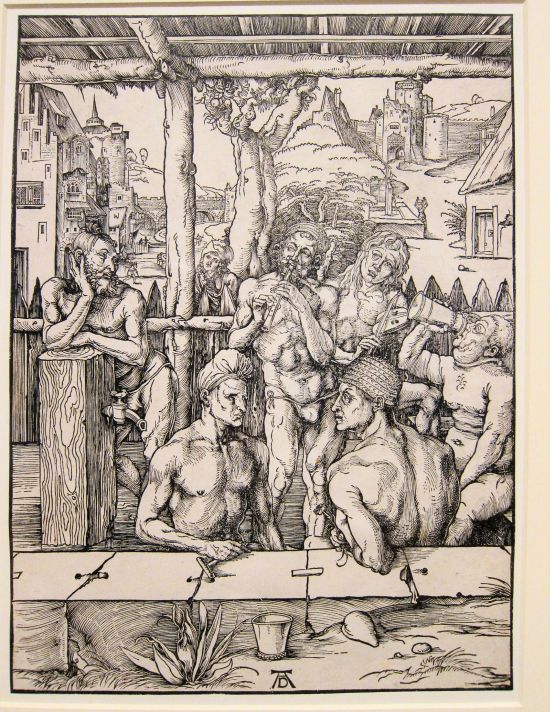 Durer, The Bath House, 1496