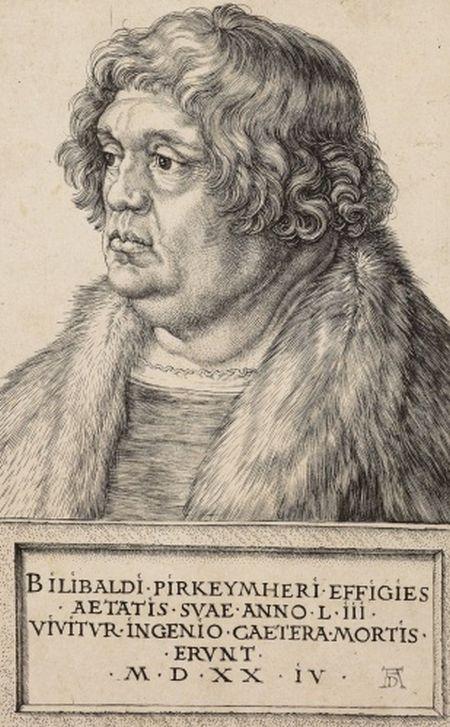 Durer, Willibald Pirckheimer, 1524