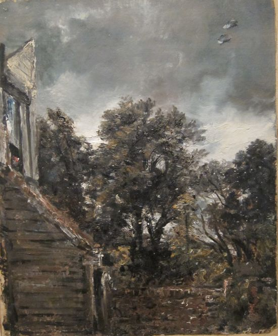 Garden with Shed at Hampstead, 1821