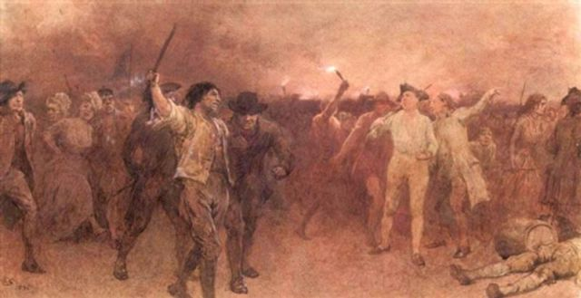 Gordon Riots by Charles Green