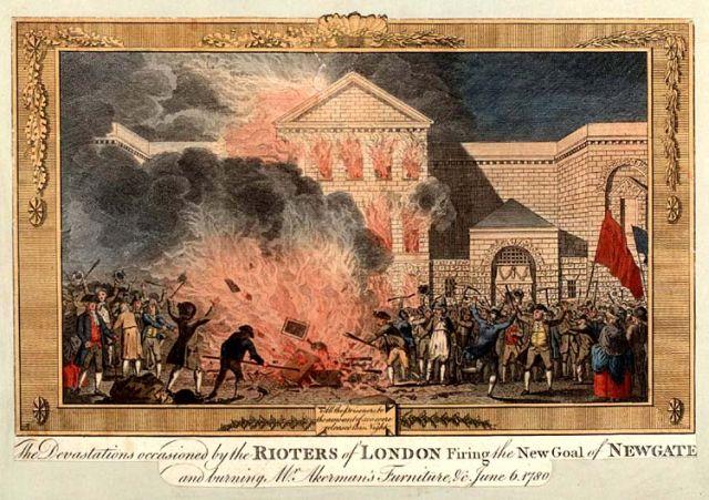 Gordon Riots - Newgate Prison