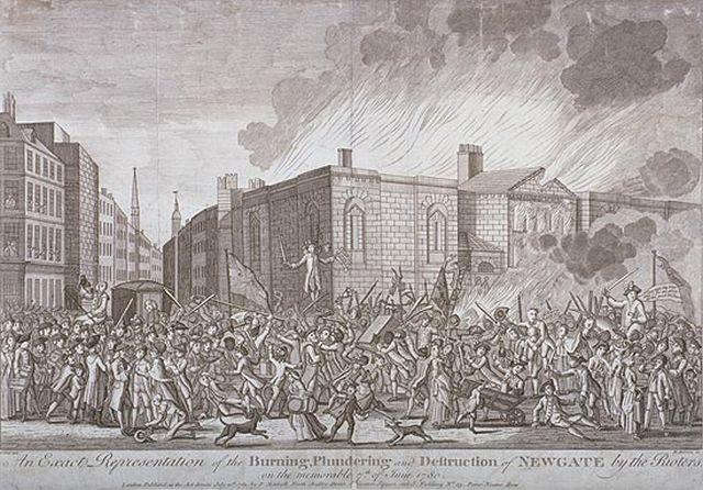 Gordon Riots Newgate Prison