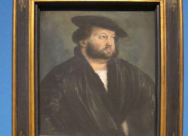 Hans Brosamer, Portrait of a Man, 1522