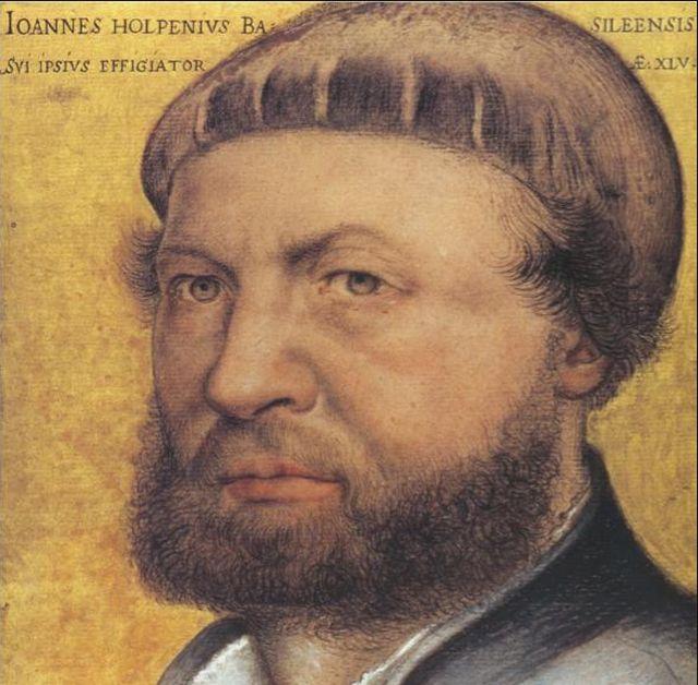 Hans Holbein, Self Portrait, 1542