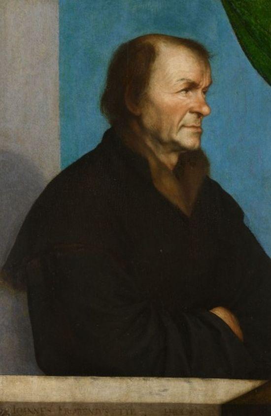 Holbein, Johannes Froben, 1522