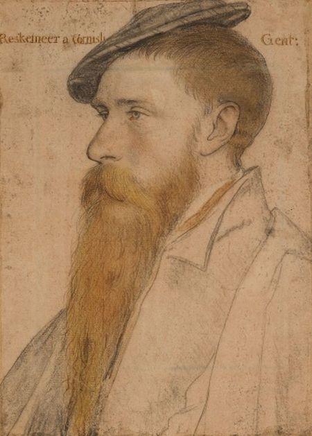 Holbein, William Reskimer, 1532