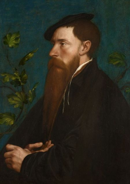 Holbein, William Reskimer, 1534
