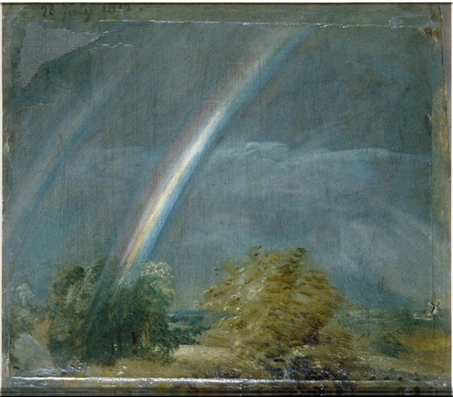 Landscape with Double Rainbow