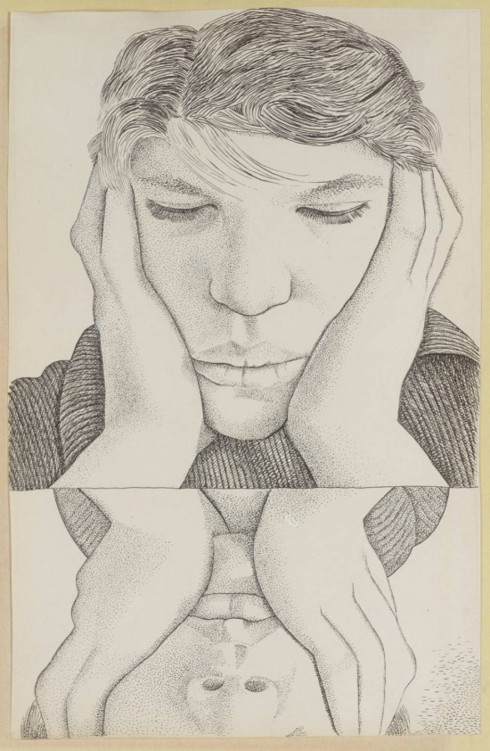 Lucian Freud, Narcissus, 1948