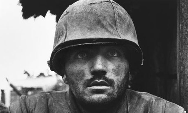 Shellshocked US marine, Hue, 1968