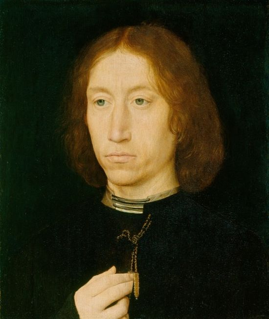 Memling, Portrait of a Man, 1480