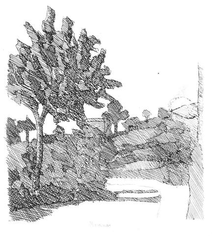 Morandi, Grizzana Landscape, 1932