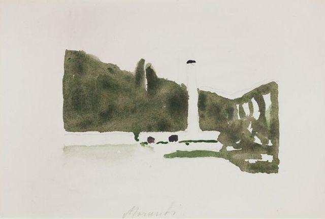 Morandi, Landscape Levico, 1957