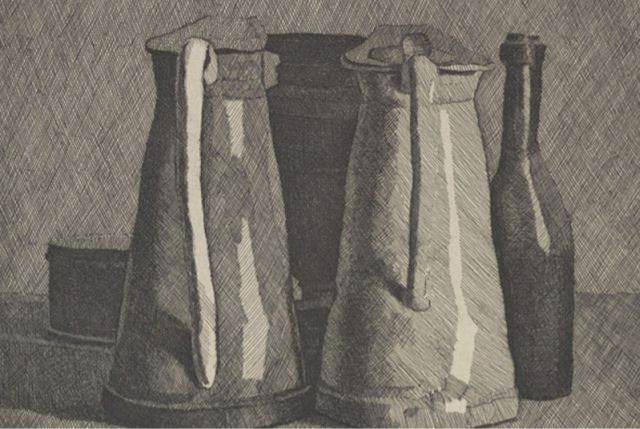 Morandi, Still Life With Five Objects, 1956