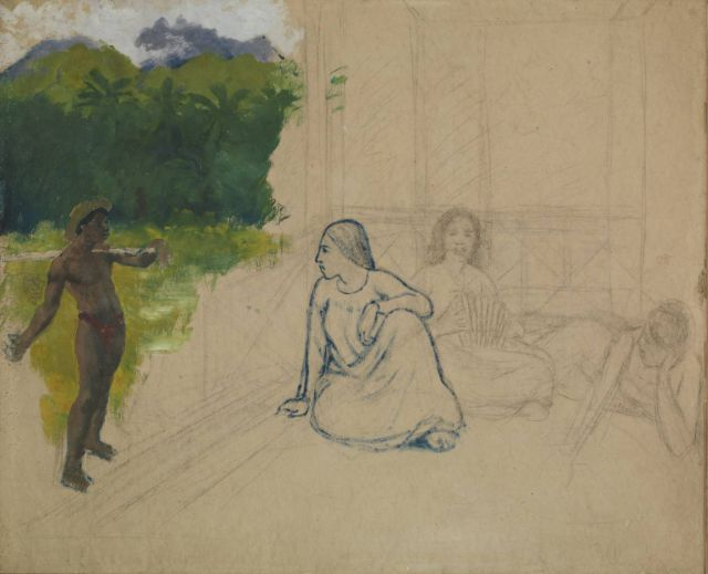Paul Gauguin, Tahitians, 1891