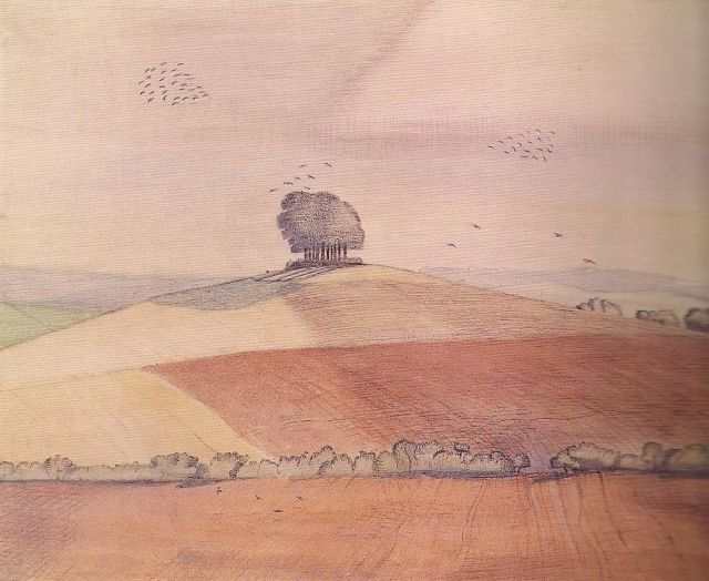 Paul Nash, Wittenham Clumps