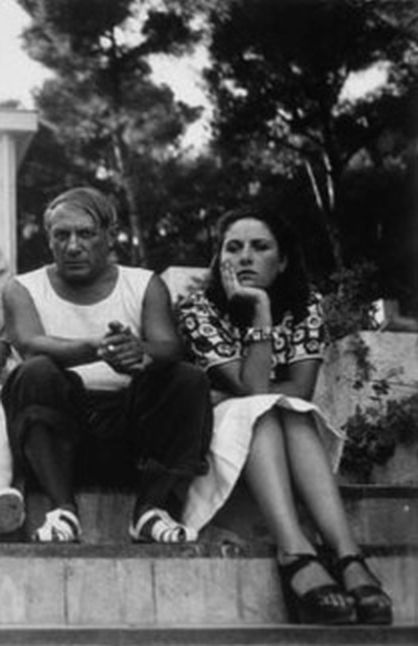 Picasso and Dora Maar, photographed by Man Ray, 1937