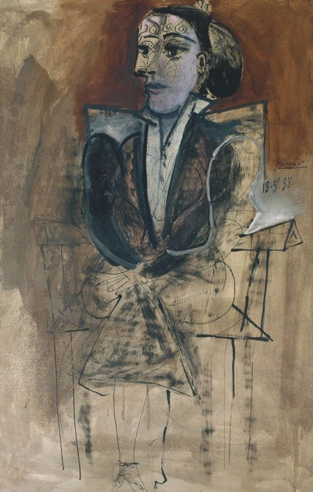 Pablo Picasso, Dora Maar Seated, 1938