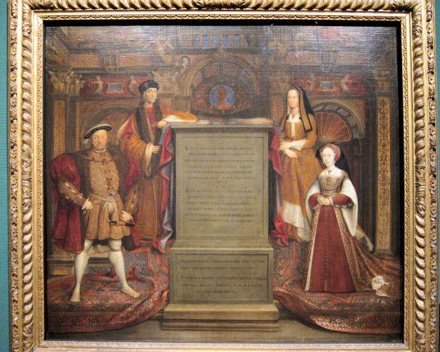 Remigius van Leemput, Henry VII, Elizabeth of York, Henry VIII and Jane Seymour, 1667