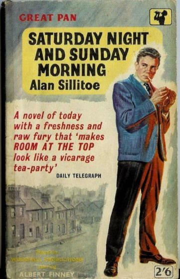 Saturday Night Sunday Morning Pan paperback cover